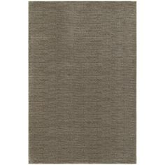 $209.25 Richmond Grey/Brown Solid Area Rug