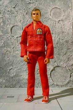 Lee Majors as Steve Austin in The Six Million Dollar Man Action Figure by Kenner, c. 70s Toys, Retro Toys, Vintage Toys, Vintage Games, Steve Austin, Childhood Toys, Childhood Memories, School Memories, Gi Joe