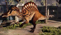 Jurassic World, Jurassic Park, Primal Carnage, Spinosaurus, Dinosaur Art, Prehistoric Creatures, Reptiles, Dragons, Deserts