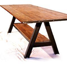 A-plus Steel & reclaimed wood