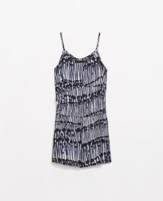 Image 7 of PRINTED PLAYSUIT from Zara