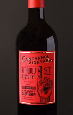 Student Work: Beau Monroe: Concannon Packaging