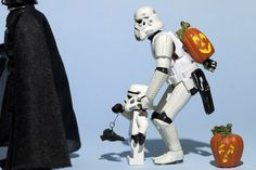 Photo-a-Day Project Brings Star Wars Action Figures to Life    Inspired by the fun she and her children had playing with Star Wars Legos, Alexanderson, who works in education and takes photos as a hobby, has been posing and photographing storm troopers and clones every day this year.