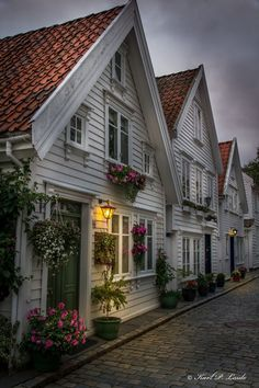 Houses in old Stavanger, Norway. Norway ranks as for the well being of their … Houses in old Stavanger, Norway. Norway ranks as for the well being of their elderly. Must be the spirit of Norway. Beautiful Norway, Beautiful World, Beautiful Homes, Beautiful Places, Places Around The World, The Places Youll Go, Places To See, Around The Worlds, Lofoten