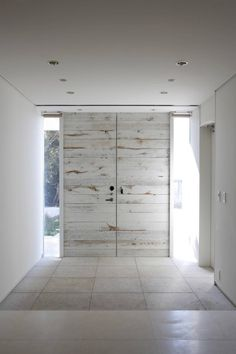 modern, distressed, white-washed doors. Edward Suzuki Associates - Japan interior-white-wood
