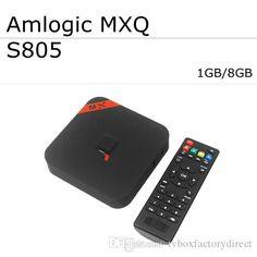 Live Tv Box Dhl Freeship Mxq Tv Box Android Kitkat 4.4.2 Quad Core Smart Tv Amlogic S805 1g/8g Hdmi 1080p Xbmc Miracast With Bluetooth Free Tv Box From Tvboxfactorydirect, $43.18| Dhgate.Com