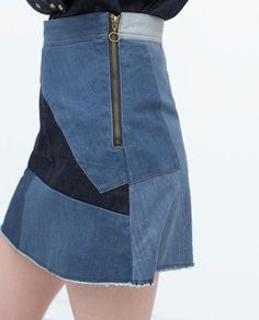 Zara, jupe Zara , nouveautés Zara, jupe en jean Zara, jupe denim Zara, Zara denim, jeans Zara, tendance été 2015, jupe en jeans été 2015, jupe denim été 2015, vêtements denim été 2015