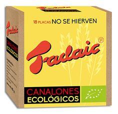 Diseño del packaging de canelones y la línea gráfica a seguir por el resto de productos de la marca