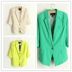 2013 Fashion Womens Jackets Blazers OL Style by wholesaledress, $26.99