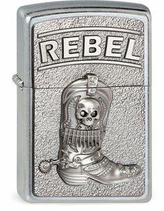 #207 Cowboy Boots Rebel | Zippo.de