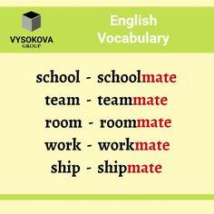 #English #learningenglish #language #vocabulary English Time, English Class, English Words, English Lessons, English Grammar, Idioms And Proverbs, Advanced English Vocabulary, Word Building, Grammar And Vocabulary