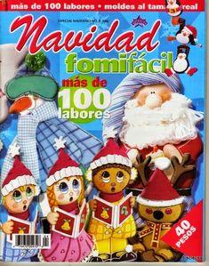 MOLDES DE FOAMI PARA NAVIDAD - Revistas de manualidades gratis