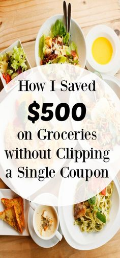 Save on Groceries without Clipping Coupons - Finance tips, saving money, budgeting planner Money Saving Meals, Best Money Saving Tips, Save Money On Groceries, Money Tips, Money Savers, Groceries Budget, Frugal Living Tips, Frugal Tips, Grocery Savings Tips