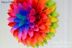 neon-Paper-dahlia by imtopsyturvy.com, via Flickr