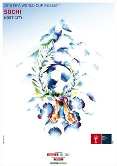 #Russia release promotional poster to publicise Sochi city for #WorldCup2018