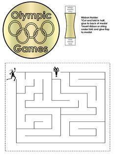 olympics themed maze