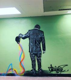 Nick Walker in Miami, FL, USA, 2017 Nick Walker, Fl Usa, Street Art, Miami, Corner, 3d, Home Decor, Decoration Home, Room Decor
