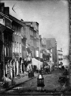 North side of Chestnut Street, below Second Street, Philadelphia, Pennsylvania.  It was created in 1842 by William G. Mason.