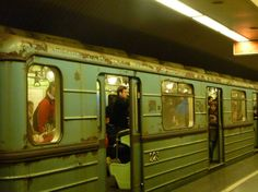 Image result for budapest subway car