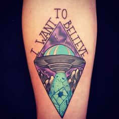 X-Files Tattoo