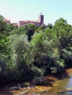 El rio Fluvia a su paso por Bascara