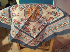 A personal favorite from my Etsy shop https://www.etsy.com/listing/252899241/southwest-vintage-bandanas-with-indian