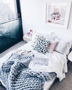 Image de bedroom, home, and interior