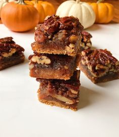 Maple Pecan Pie Bars – The Dish On Healthy