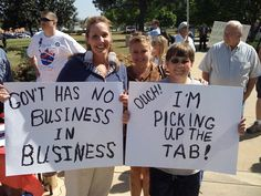 From a Tea Party rally... sounds similiar to the Occupy Movement, doesn't it? The American people are waking up.