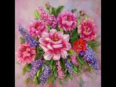 Wy works, ottobre dicembre 2011, silk ribbon embroidery - YouTube