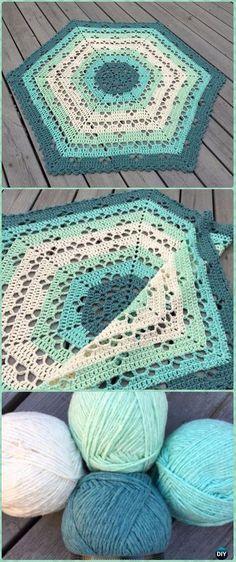 Crochet Cloudberry Blanket Free Pattern - Crochet Circle Blanket Free Patterns