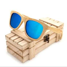 Wooden Bamboo Sunglasses  & FREE Shipping Worldwide //$41.56    #iphoneogram #iphonegraphic