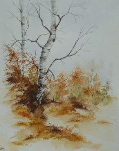 Watercolor 30 x 40 cm #watercolorarts