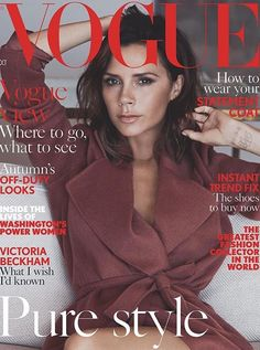 Victoria Beckham, Vogue US, October