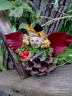 DIY ~ Make Fairies for Free! (Garden of Len & Barb Rosen) http://ourfairfieldhomeandgarden.com/diy-project-fairies-for-free/