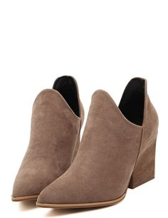 Wholesale Ankle boots hot sales casual point toe women shoes YS-C4765 - Lovely Fashion