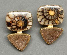 Yazzie Johnson and Gail Bird Earrings