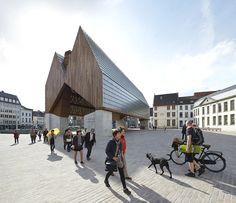Market Hall in Ghent,© Hufton + Crow