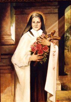 """consagrada-para-amar-blog: """" """"Depois da minha morte, farei cair uma chuva de rosas"""". (Santa Teresinha) """""""