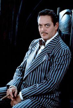 Addams Family  Black and White pinstripes. Sharp!