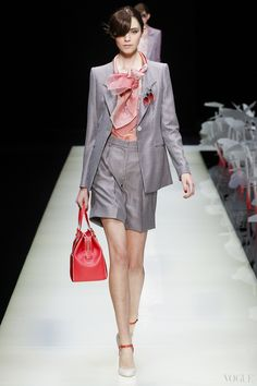 Обзор коллекции Giorgio Armani весна-лето 2016 - Мода - Бренд | Vogue Ukraine