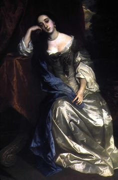 Barbara Palmer (Villiers), Duchess of Cleveland by Sir Peter Lely - mistress of Charles II. She bore 5 of his children. Women In History, Art History, European History, Adele, Cleveland, House Of Stuart, 17th Century Clothing, Historical Costume, Powerful Women