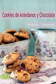 Cookies de Arándanos y chocolate #singluten #sinlactosa #schär Ricas, deliciosas y fáciles de preparar!! Unas galletas con arándanos y chocolate.... sin gluten y sin lactosa. Ideales para compartir!