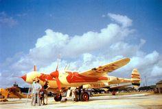 P-38 Air Racer NX25Y,later N25Y, early 1947