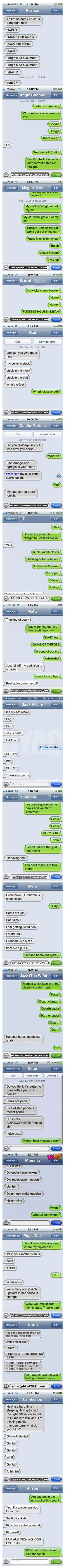 18 of the Best Autocorrect Struggles | Mommy Has A Potty MouthMommy Has A Potty Mouth... HOWLING at these!  OMG!