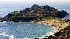 La Playa de Castro Baroña, en Porto de Son, se sitúa entre el Atlántico y la Sierra de Barbanza, en un enclave histórico del pasado celta de nuestra comunidad. FOTÓGRAFO: Barbanza