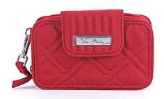 Vera Bradley Smartphone Wristlet 2.0- Retired Prints (Tango Red) *** Read more  at the image link.