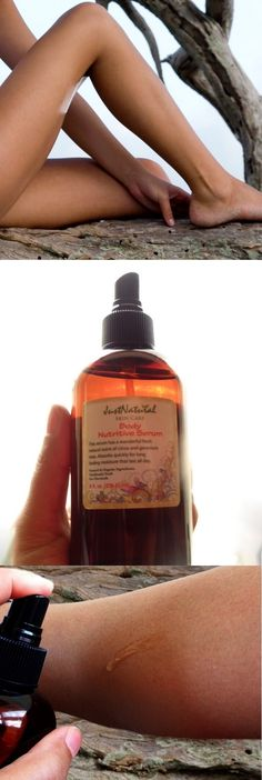 This is sun-kissed skin in a bottle. This oil has completely renovated my skin, sometimes I don't even feel like I need to apply lotion because my skin is so healthy already. I love the color it gives me, even though it is not tinted it has enhanced my tan to a beautiful natural soft golden tone.