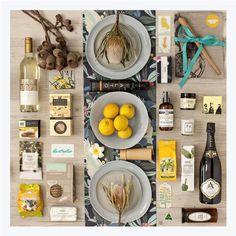 Premium Australian Table Gift Hamper: This premium gift of gourmet food, wine…