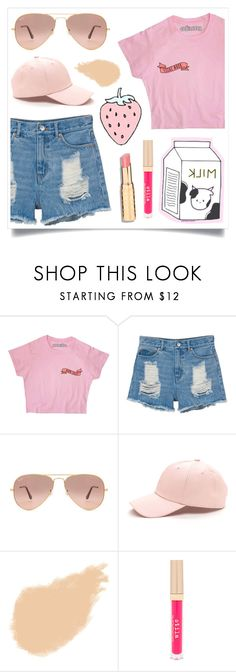 """I'm Fussy"" by racanoki ❤ liked on Polyvore featuring Monki, Ray-Ban, NARS Cosmetics, Stila and RaCaNoKi"